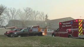 Garden City apartment fire displaces dozens