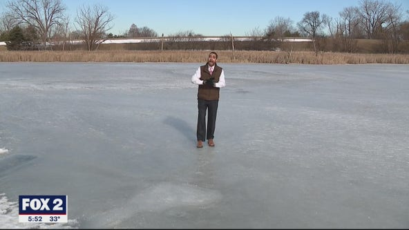 Shorter winters, means less time on our frozen lakes and ponds