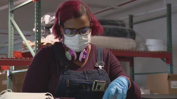 ISAIC nonprofit trains workforce with PPE production in Detroit
