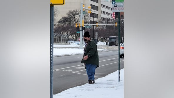 Detroit police looking for suspect who charged elderly woman at crosswalk