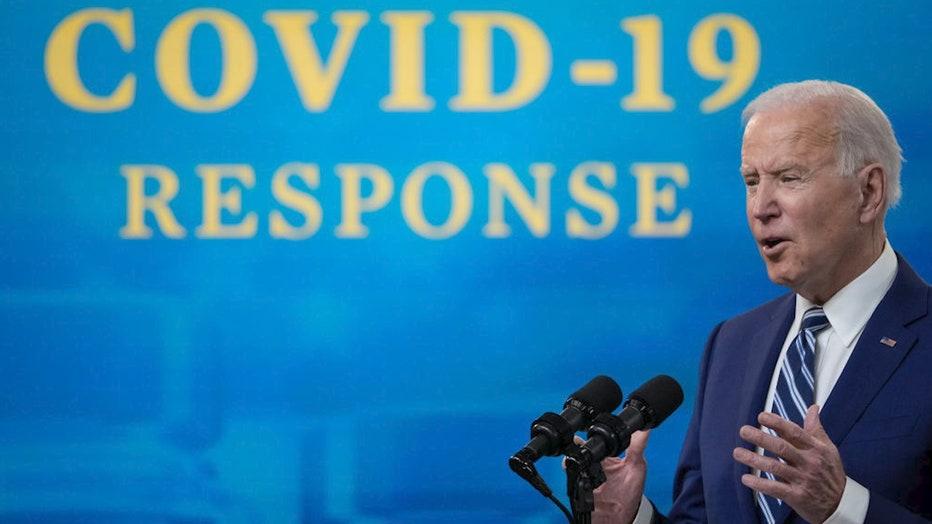 Biden COVID response
