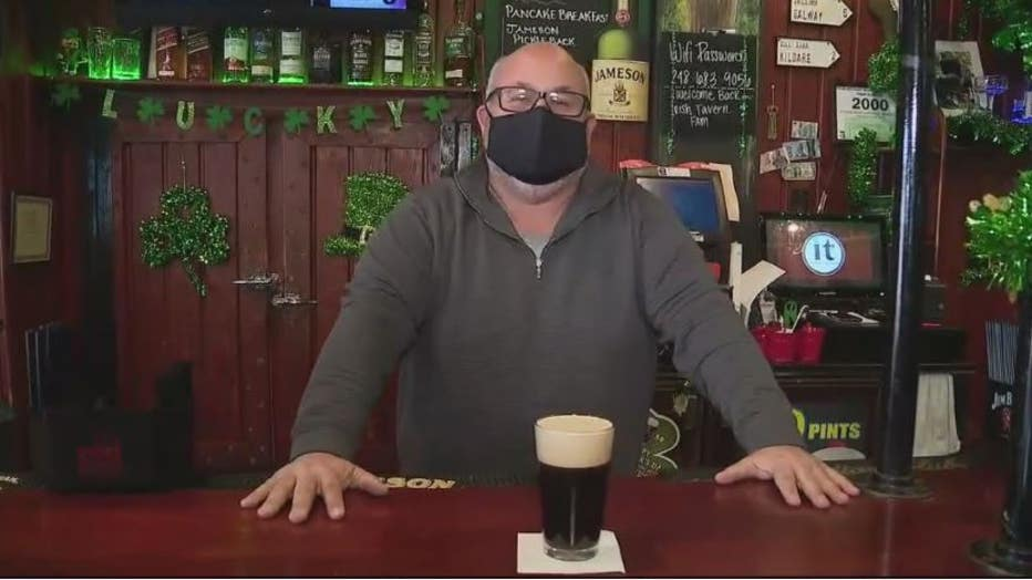 Doug Young, the owner of the Irish Tavern in Waterford and Madison Heights.
