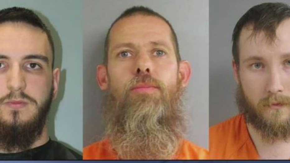 Pete Musico, his son-in-law Joseph Morrison and Paul Bellar was charged with gun and terrorism related charges.
