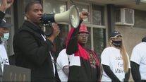 Activist group, 'Peoples Action' protest in River Rouge after police use excessive force on 17-year-old