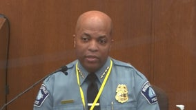 Minneapolis Police Chief: Derek Chauvin's restraint of George Floyd violated policies, training