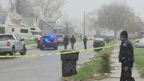 Detroit police officer injured in knife attack hit by friendly fire; suspect dead