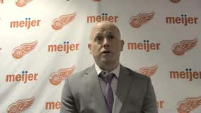 WATCH - Jeff Blashill on Red Wings' win over Lightning