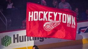 Erne gets shootout winner, Red Wings beat Hurricanes 5-4