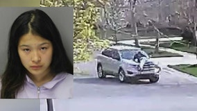Former figure skater, 17, charged with throwing father from hood of her car in Canton