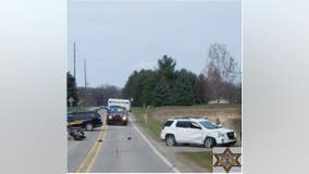 Oakland County motorcyclist dies after hitting SUV in Lapeer County