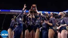 Michigan Wins First NCAA Women's Gymnastics National Championship in School History