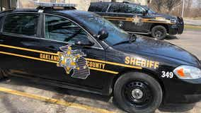 Oakland County Deputy involved in car crash, officials say suspect was driving the wrong way
