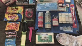 Purses with a Purpose collects donated personal care items for sexual assault survivors