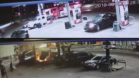 Same gas station hit in Detroit fire truck crash Wednesday, was hit 2 years ago by DFD rig