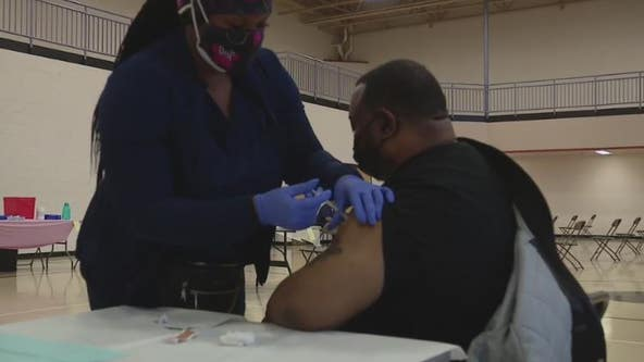 Walk-in vaccination sites debut in Detroit with no appointment needed