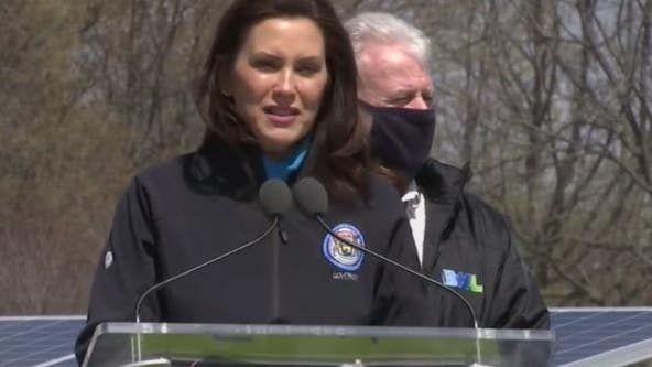 Whitmer announces Michigan-owned facilities to be 100% renewable energy by 2025