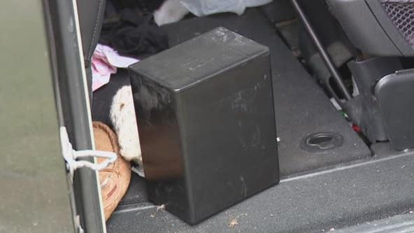 Stolen minivan with mother's cremains inside recovered by Warren police