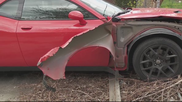 Driver captured after speeding through Detroit at 160 mph in stolen car