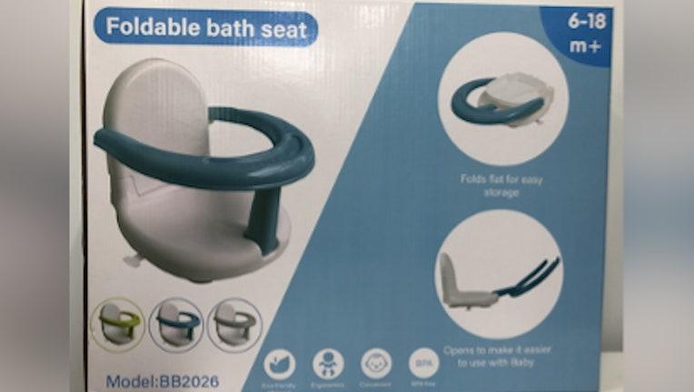 Battop bath seat