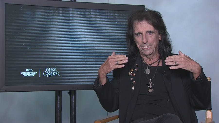 Alice Cooper talks his new album and his search for the best garage band in the country