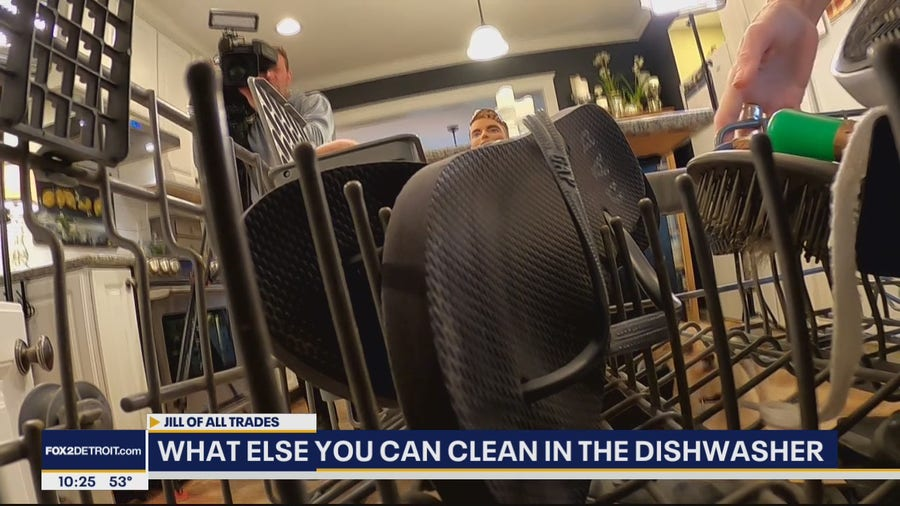 Other stuff you can clean in the dshwasher