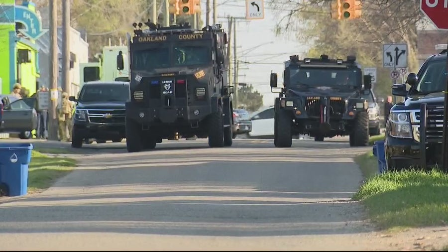 Waterford Township standoff ends after barricaded gunman surrenders