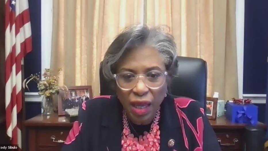 Congresswoman Brenda Lawrence (D-Michigan).