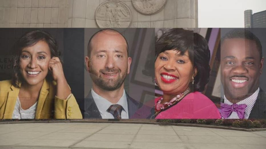 Four Detroit council members are not seeking re-election - Raquel Castaneda-Lopez, Gabe Leland, Brenda Jones and Andre Spivey.