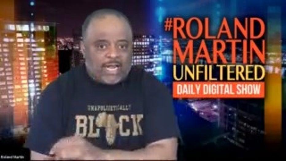 Former CNN personality Roland Martin, CEO Nu Vision Media, Inc.