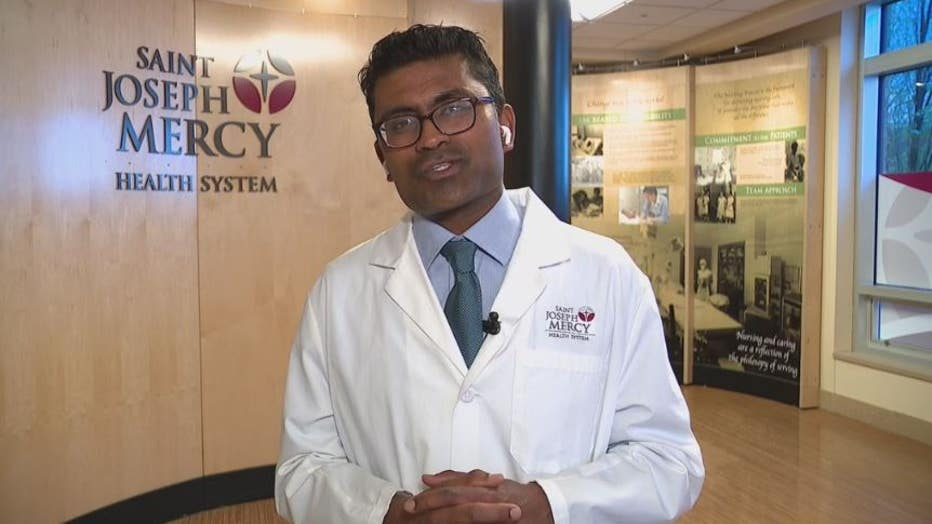 Dr. Anurag Malani, the Medical Director of Infection Prevention and Control at Saint Joseph Mercy Health