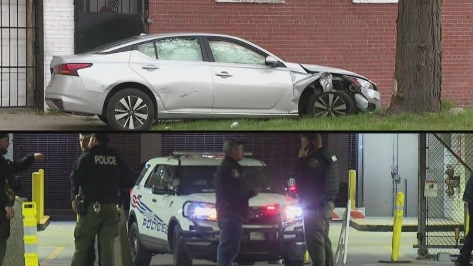 Drivers of two different silver Nissan Altimas were arrested Thursday after two car chases.