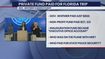 Another twist in Whiter Florida trip story as private fund paid most of it