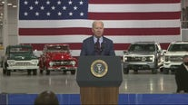 President Biden tours Ford's Rouge Electric Vehicle Center