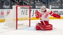 Domi's OT goals lifts Blue Jackets over Red Wings in finale