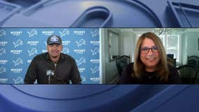 WATCH - Lions top pick Penei Sewell is introduced to Detroit