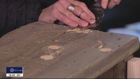 DIY Fixes For a Trash-Picked and Weathered Old Bench
