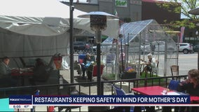 Restaurants prepare for Mother's Day with pandemic precautions included