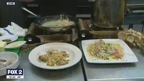 Chef Bobby's Mother's Scampi Linguini