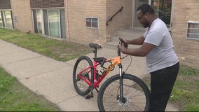 Ferndale police officer replaces man's stolen bike