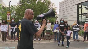 Protest held in Dearborn demanding police accountability on anniversary of George Floyd's death