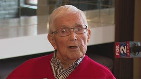 Army vet gets 99th birthday wish with return visit to Port Huron