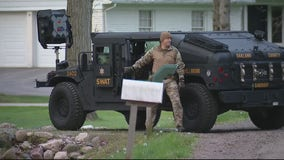 SWAT units near Rochester for barricaded gunman situation