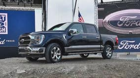 Biden brings his EV agenda to Dearborn to see new electric F-150, tour of Rouge plant