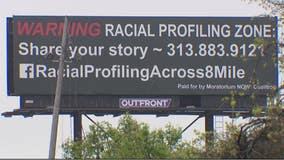 Billboards along 8 Mile warns Black drivers of 'Racial Profiling Zone'