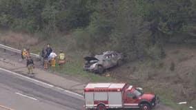 2 men killed in crash on US-23, crossing median and hitting car, semi-truck