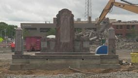 Royal Oak moves war memorial to make new sidewalk, leading to lawsuit