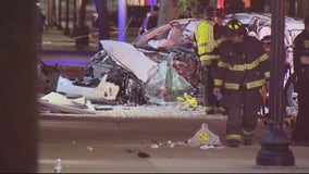 2 dead, 1 injured, and multiple businesses damaged in downtown Dearborn deadly crash