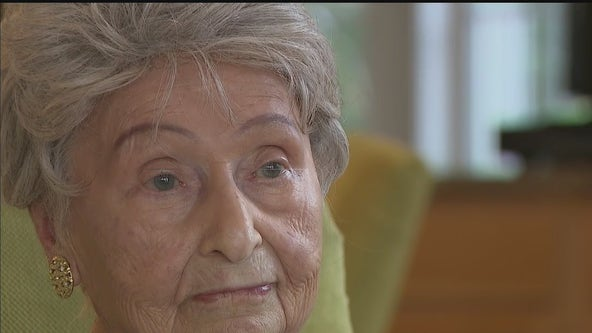 Woman who survived Holocaust, two pandemics celebrates 100th birthday