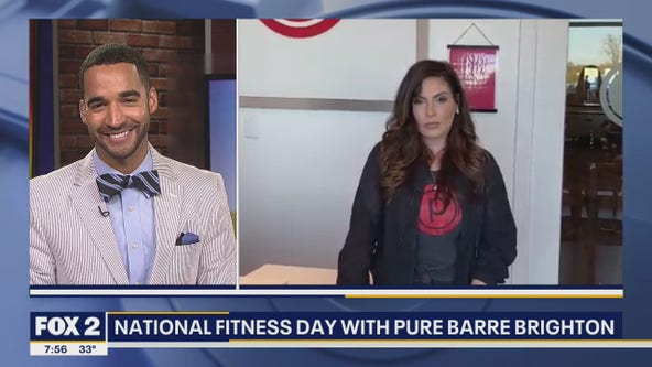 National Fitness Day with Pure Barre Brighton
