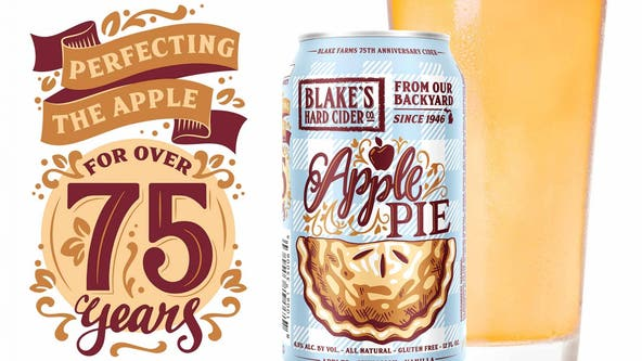 Blake's unveils Apple Pie hard cider in celebration of 75th anniversary